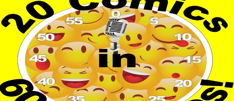 20 Comics in 60 Mins Celebrate Syd Comedy Fest 2 for 1 Seats