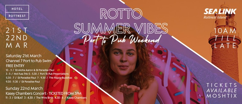 Rotto Summer Vibes – Port to Pub Weekend