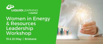 Women in Energy & Resources Leadership Workshop
