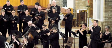 Canberra Bach Ensemble: Lord, As You Will!