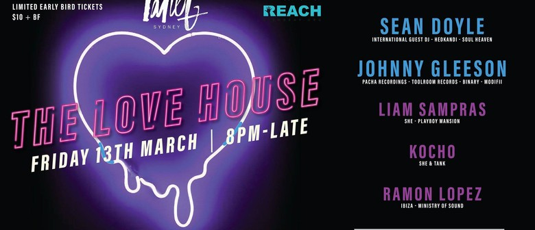 The Love House ft. Special Guest Sean Doyle & Friends