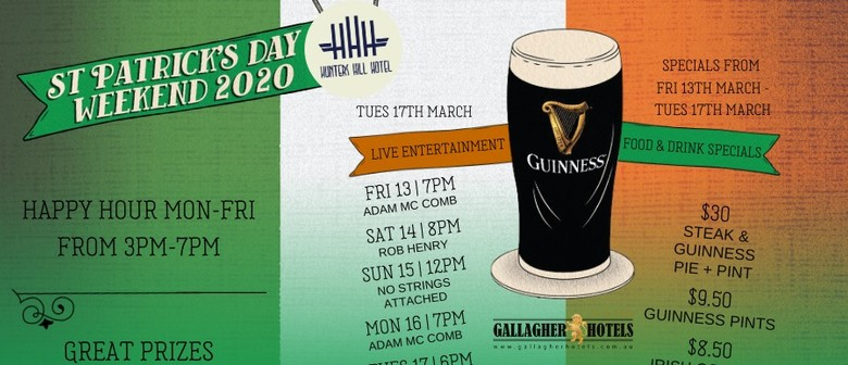 St Patrick's Day Weekend 2020
