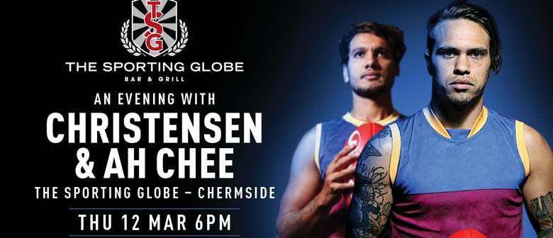 An Evening with Brisbane Lions, Christensen & Ah Chee