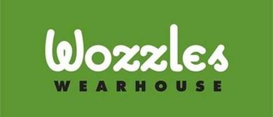 Wozzles Book Sale
