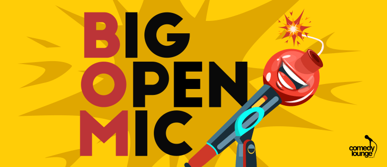 Big Open Mic: CANCELLED