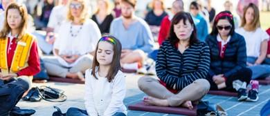 Mass Tai Chi and Meditation – BBMF 2020