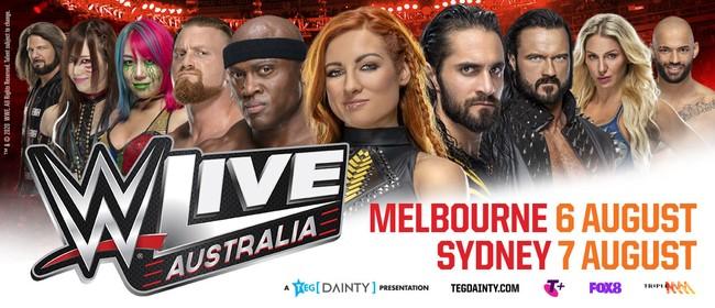 Image for WWE Live Sydney 2020