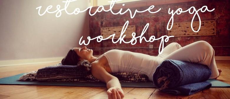 Restorative Yoga 2-Hour Workshop