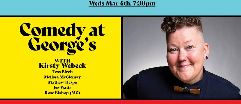 Comedy At George's – Kirsty Webeck