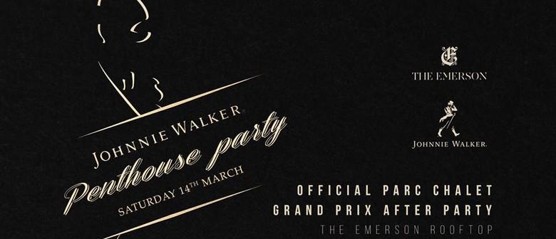 Grand Prix Saturday – Official Johnnie Walker Penthouse Part