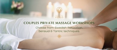 Couples Sensual Massage Workshop