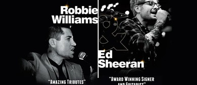 Joe Boshell's Robbie Williams & Ed Sheeran Tribute