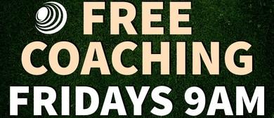 Lawn Bowls Coaching Clinic