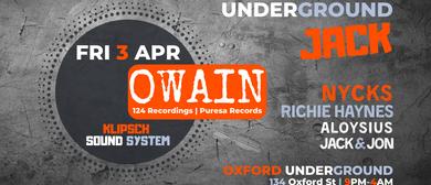 Underground Jack #003 With Owain