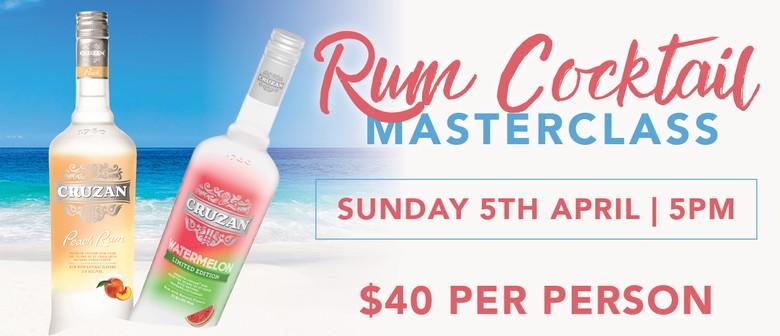 Rum Cocktail Masterclass