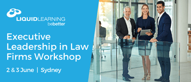 Executive Leadership In Law Firms Workshop