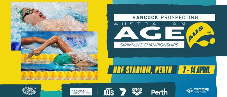 Hancock Prospecting Australian Age Swimming Championship: CANCELLED
