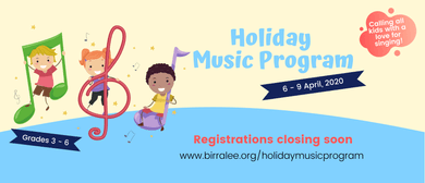 Easter Holiday Music Program