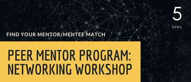 Peer Mentor Program: Networking Workshop
