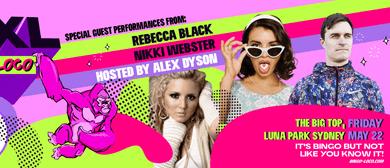 Bingo Loco XXL – Rebecca Black, Nikki Webster, Alex Dyson