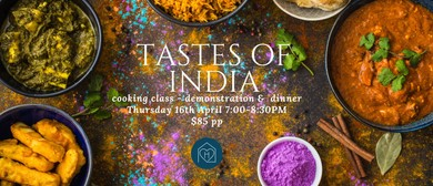 Tastes of India Cooking Class