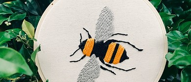 Holiday Fun - Stichen Vixen Embroidery  Workshop: CANCELLED