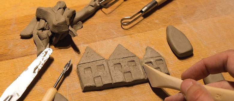 Holiday Fun - Clay Slab Huts
