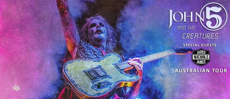John 5 & The Creatures Australian Tour