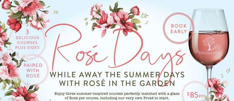 Rosè Days Lunch: CANCELLED