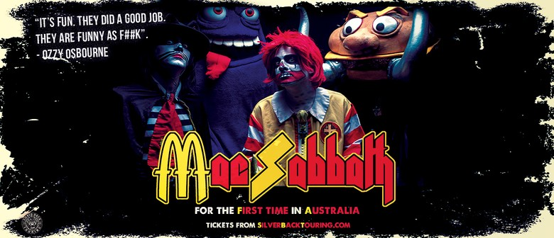 Mac Sabbath Australian Tour
