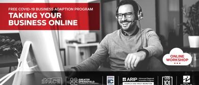 Webinar: Taking your Business Online