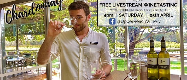 Live Stream Wine Tasting - Chardonnay Master Class