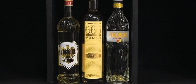 Facebook LIVE: Flavoured Vodka Tasting