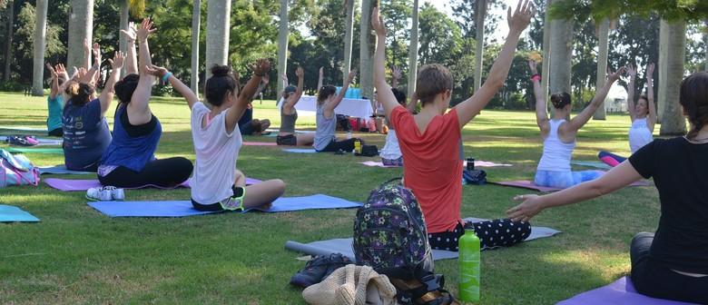 Outdoor Yoga Classes