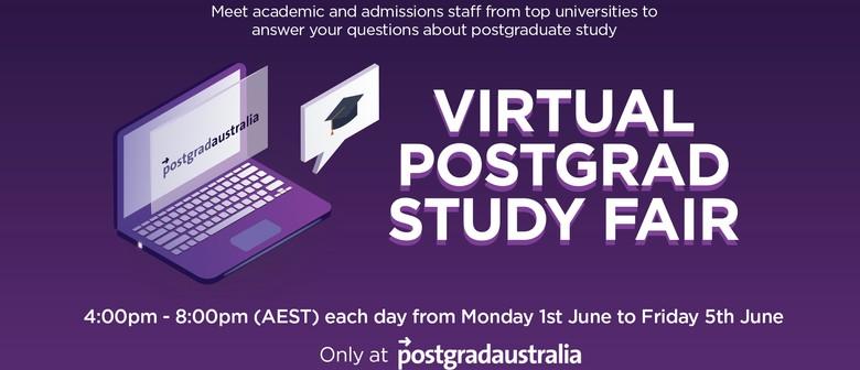 Virtual Postgrad Study Fair
