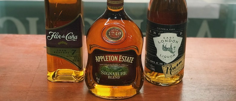 LIVE: Dark Rum Tasting