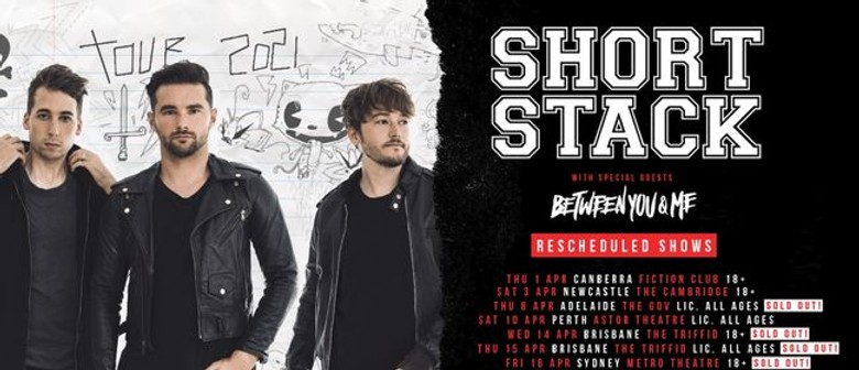 Short Stack Australian Tour: SOLD OUT