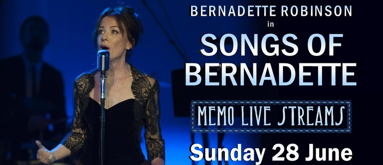 The Songs of Bernadette Robinson Live Stream from MEMO
