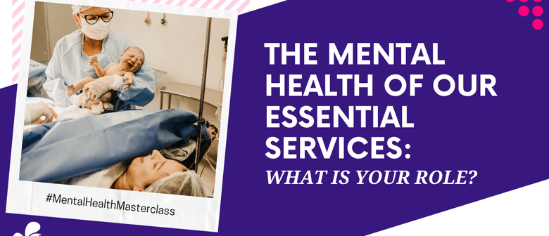 The Mental Health of Essential Service Workers