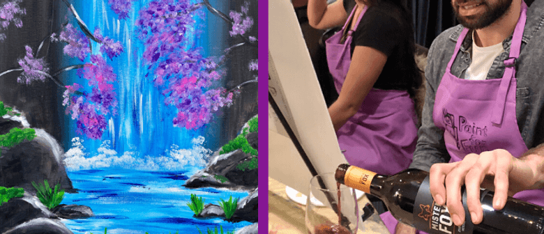 Acrylic Waterfall - Sip & Paint Class (BYO In-Studio): CANCELLED