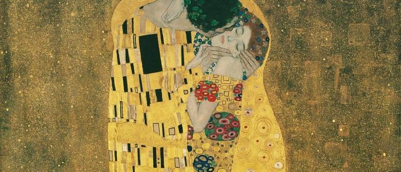 Paint Klimt's Birthday Artwork (Online Class) - Sip & Paint