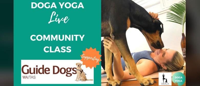 Doga Yoga Live Community Class