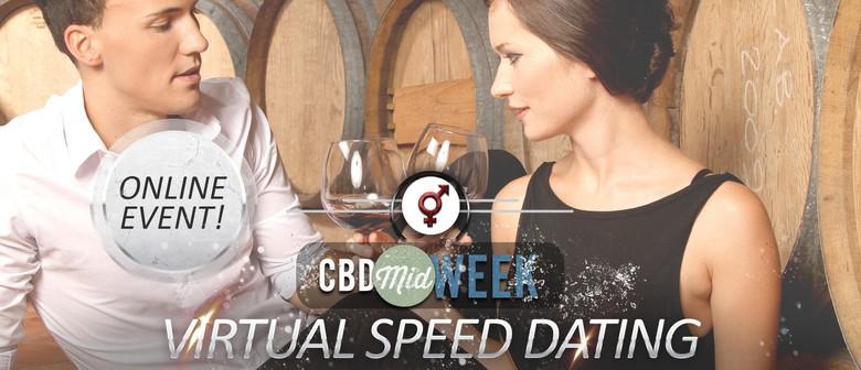 CBD Midweek Virtual Speed Dating – Wednesdays