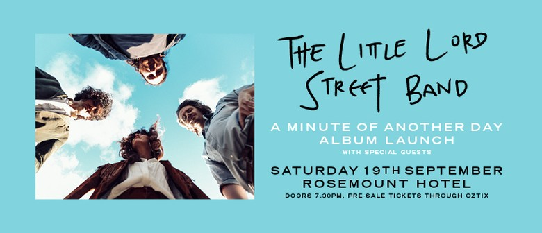 The Little Lord Street Band Album Launch
