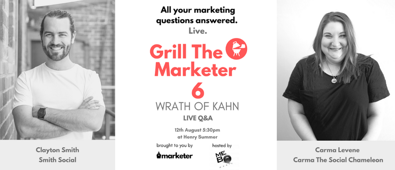 Grill The Marketer - Live Marketing Q&A
