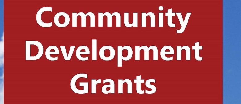 Community Development Grants Info Session - Face to Face