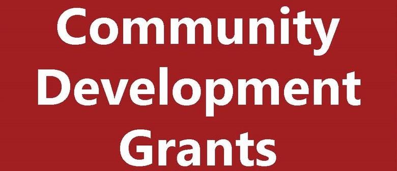 Community Development Grant Info Session - Digital session