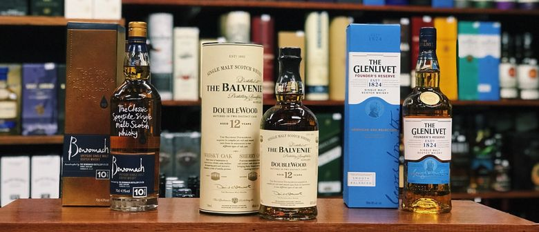 Online LIVE: Speyside Whisky Tasting!