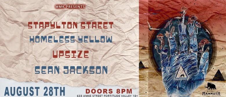 Stapylton Street, Homeless Yellow, Upsize, Sean Jackson