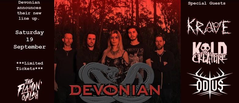 Devonian, Odius, Kold Creature, Krave